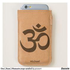 Om ( Aum ) Namaste yoga symbol iPhone 6/6S Case