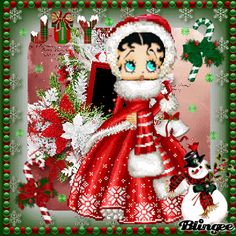 Betty Boop Christmas