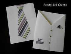 diy birthday card ideas | Homemade-card-for-men ideas are difficult to come by so I thought I ...