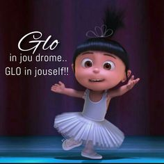 Glo in jou drome. Glo in jouself Gru And Minions, Afrikaanse Quotes, Lunch Box Notes, Faith Hope Love, Lets Dance, Disney Quotes, Wisdom Quotes, Girly, Let It Be