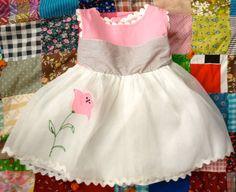 Pink Poppy Dress 912 Months by lishyloo on Etsy, $14.00