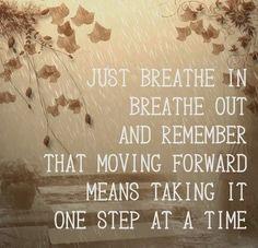 Allwaysbehappy: Just Breathe ....