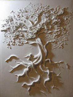Sculpture en gypse idées tendance Over the course of her five-decade employment, artist Viola Plaster Sculpture, Plaster Art, Plaster Walls, Wall Sculptures, Sculpture Art, Ceramic Sculptures, Texture Art, Texture Painting, Glue Art