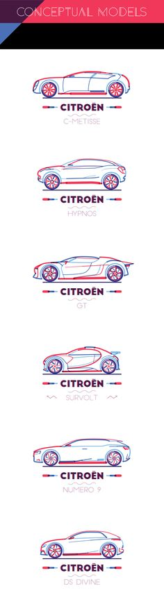 CITROEN IN LINES on Behance