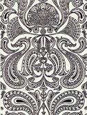 Cole & Son Malabar Wallpaper, Black / White