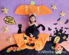 Halloween Photos, Halloween Kids, Halloween Themes, Halloween Crafts, Monthly Baby Photos, Baby Monthly Milestones, Diy Baby Costumes, Baby Cosplay, Newborn Baby Photography