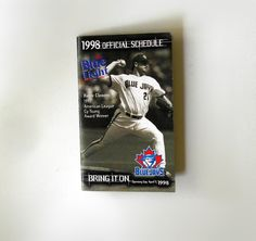 Items similar to 1998 Toronto Blue Jays Baseball Pocket Fold Out Pocket Schedule Roger Clemens Pat Hentgen 1997 & 1996 American League Cy Young Award Winners on Etsy Cy Young Award, Roger Clemens, American League, Toronto Blue Jays, Award Winner, Schedule, How To Memorize Things, Pocket, Baseball