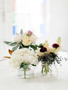 #centerpiece  Photography: Kristen Kilpatrick - kristenkilpatrick.com  Read More: http://www.stylemepretty.com/2015/04/23/sweet-simple-asutin-brunch-wedding/