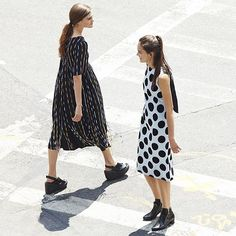 SUNO Pre Fall 2015 dress as seen on #openingceremony. #SUNONY