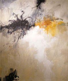 """""""Black & Tan"""", 50 x 42"""", mm/c"""
