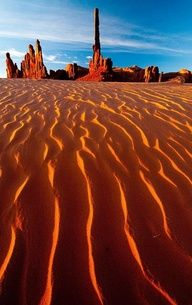 Totem Pole Dunes, Arizona -- places to go in AZ this year.