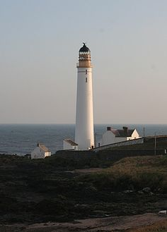 Scurdy Ness Lighthouse, Scotland.