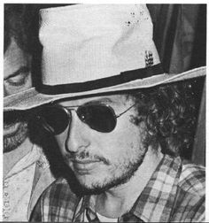 2- Bob Dylan - Attending a Rolling Stones Concert  1974 or 75