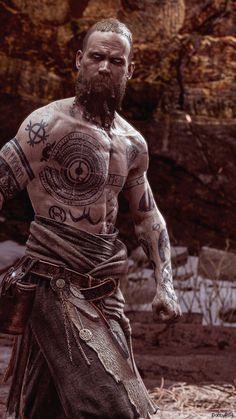 Baldur was the Norse Aesir God of Light and the main antagonist of God of War He was the son of Odin and Frigg, half-brother of Thor and Týr, and the half-uncle of Magni, Modi, and Thrúd. War Tattoo, Norse Tattoo, Viking Tattoos, Armor Tattoo, Warrior Tattoos, Tattoo Ink, Viking Symbols, Viking Art, Viking Warrior