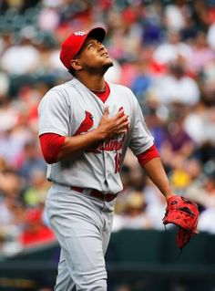 """It would mean the world to me to accompany my teammates, and represent the Cardinal Red and the #18 Jersey on one of the biggest stages in all of Baseball."" -Carlos Martinez"