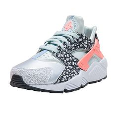 2c399f04f57d NIKE Air Huarache Run PRM sneaker Low top women s Lace up closure Suede and  stretch materials for ul. Suede and synthetic materials.