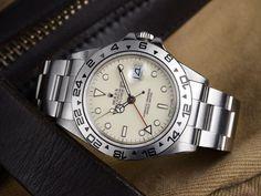 Rolex 16550 Cream Dial Explorer