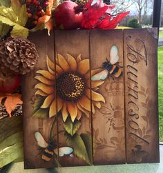 Tournesol  ( Sunflowers ) E Pattern by TracyMoreauDesign on Etsy