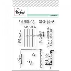 PinkFresh Studio Clear Stamp Set Good Job