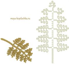 Fern leaf motif for crochet/ Irish lace diagram 100 floral motifs to crochetleaves / very pretty fern fronds .Image gallery – Page 356488126745295874 – Artofit Crochet Leaf Patterns, Crochet Leaves, Crochet Motifs, Crochet Diagram, Freeform Crochet, Crochet Chart, Irish Crochet, Crochet Flowers, Lace Flowers