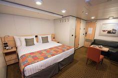 11 Ways to Make Your Cruise Ship Cabin Feel Bigger The Inside on the Eurodam (Photo: Cruise Critic)