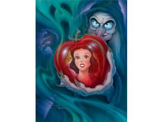 """""""The Fairest in the Land"""" by John Alvin.   Limited Edition Giclée on Canvas."""