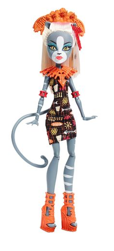 Monster High Ghouls' Getaway Meowledy Doll