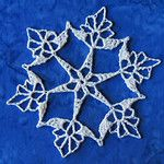 Amazing Directory of crocheted snowflakes. I have two books of 100 snowflake patterns and a couple of other pattern books but there are some at this site that I haven't seen. :)
