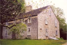 "The Alden Family House.  ""There are houses built in the 17th century, but few have survived without 'improvements' such as plumbing, electricity, and modern kitchens. That the property which was granted to the Alden family in the 1620's has never been owned by any other family is remarkable, if not without parallel among historical sites"