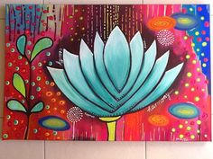 Made-By-Me....Julie Ryder: New works! Acrylics on canvas.....