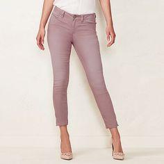 5883c2cb1f7e5 Women's LC Lauren Conrad Colored Skinny Capri Jeans Capri Jeans, Cropped  Skinny Jeans, Lc