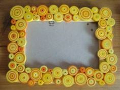 Quilling - Frame photo by: Kosorinova