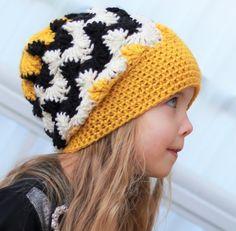 Crochet pattern Patron de crochet Davina Slouchy by TheEasyDesign