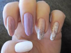 My pastel nails. www.funkyandfifty.blogspot.com