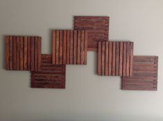 Wooden Squares by AdMoWoodDesigns on Etsy