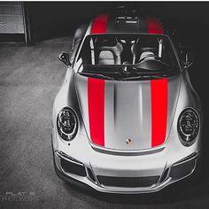 ❤️ or ❤️❤️ #ItsWhiteNoise #Porsche #911r @flat6photowerks