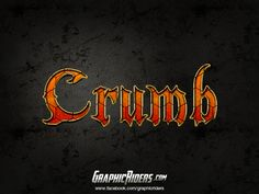 GraphicRiders | Fantasy style – Crumb (free photoshop layer style, text effect) #graphicriders