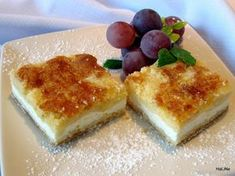 Czech Recipes, Russian Recipes, Cottage Cheese, French Toast, Cheesecake, Food And Drink, Pudding, Sweets, Traditional