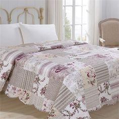 Přehoz na postel Kytka, 220 x 240 cm