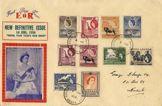 KUT New Definitive Issue 1954