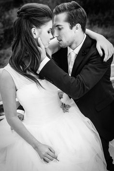 Young #wedding couple