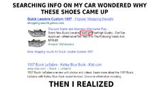 searching info on my car wondered why these shoes came up then i realized car humor road headlights Speed Bump, Buick Lesabre, Car Humor, Searching, Shoes, Zapatos, Search, Shoes Outlet, Shoe