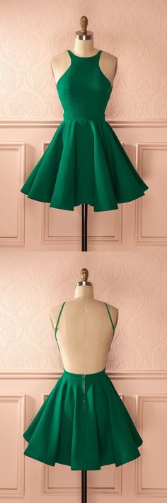 short green homecoming dress, 2017 green homecoming dress, party dress