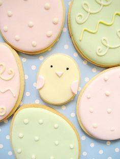 cute bird cookies!