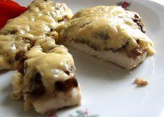 zapiekane kotlety z kurczaka Food And Drink, Keto, Eggs, Cheese, Chicken, Breakfast, Egg, Buffalo Chicken, Morning Breakfast