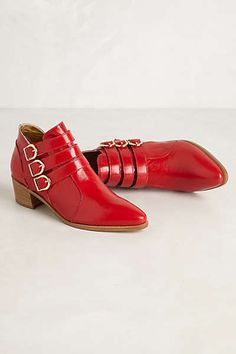 Anthropologie - Jeanne Ankle Boots