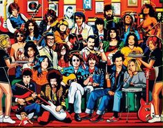 The music in heaven must be so lovely with all these amazing legends there,God bless them, and thank you for the music