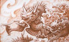 Chinese dragons, Matthew Amey