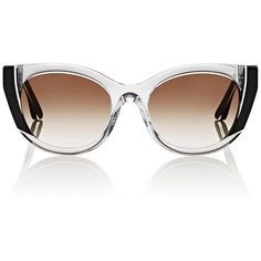 219d8a03f78 Thierry Lasry Women s Nevermindy Sunglasses (£460) ❤ liked on Polyvore  featuring accessories