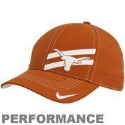 Nike Texas Longhorns Burnt Orange Legacy 91 Players Performance Swoosh Flex Hat #Fanatics